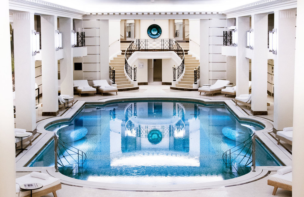 Spa at the Ritz.