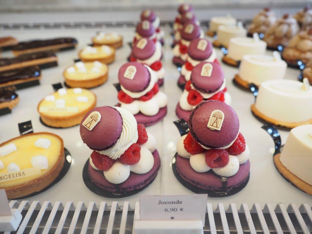 Parisian delicacies.