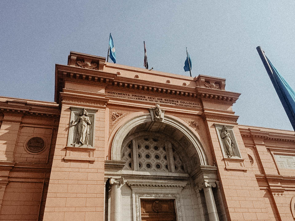 The Egyptian Museum of Antiquities:  - This place was awesome, if you're into museums its a must.  It has tons of artifacts that can only be seen there.  Also, if you love cats you will see a ton of them in and around the museum and if anyone knows me then you'd know  I was in heaven.