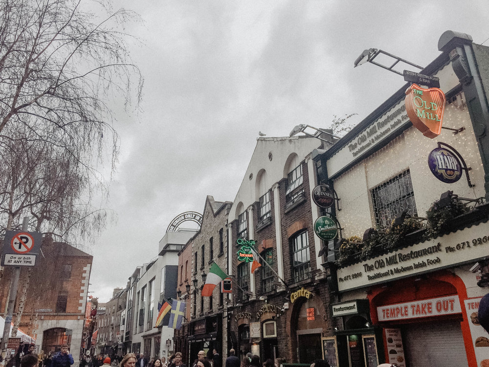 - I don't have the exact location of this little area but it was found while wandering through the back areas of Parnell Square. There were lots of pubs and places to eat.