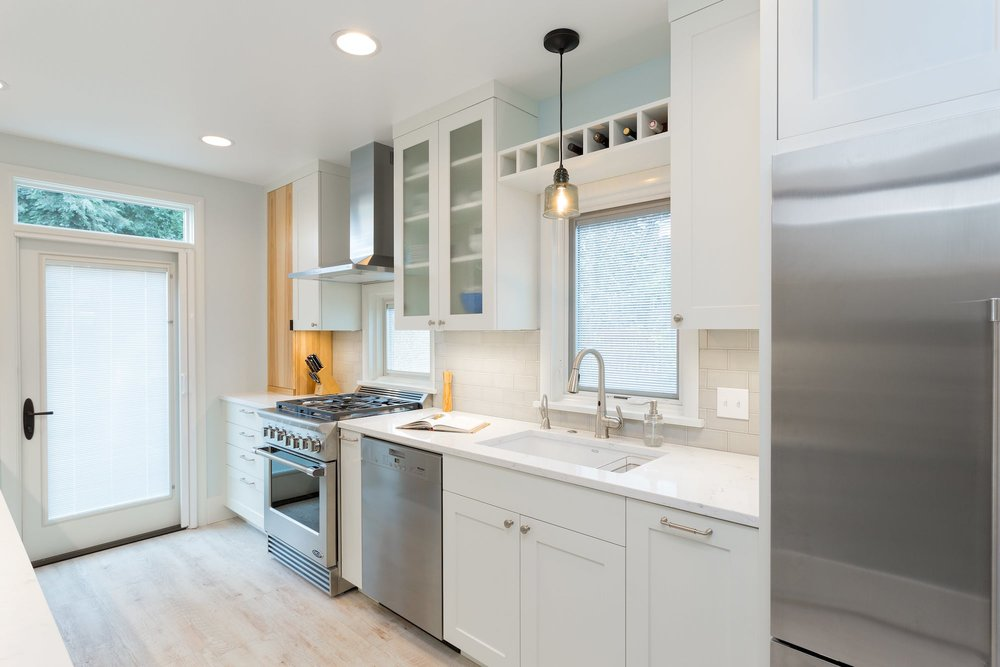 Green Lake Kitchen & Basement Remodel