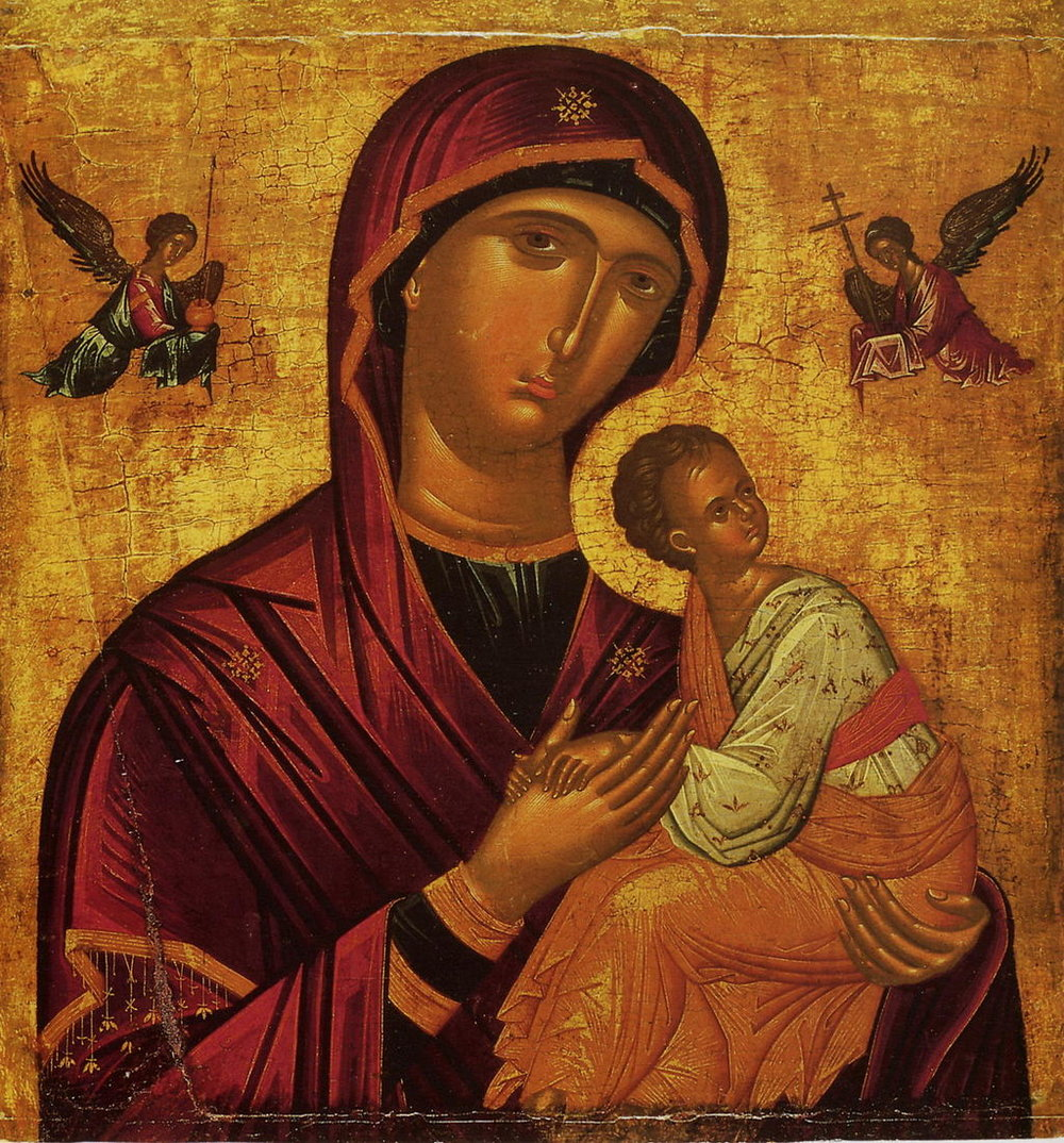 Our_Lady_of_Perpetual_Help_by_Andreas_Ritzos's_school_(15th_c.,_Pushkin_museum).jpg
