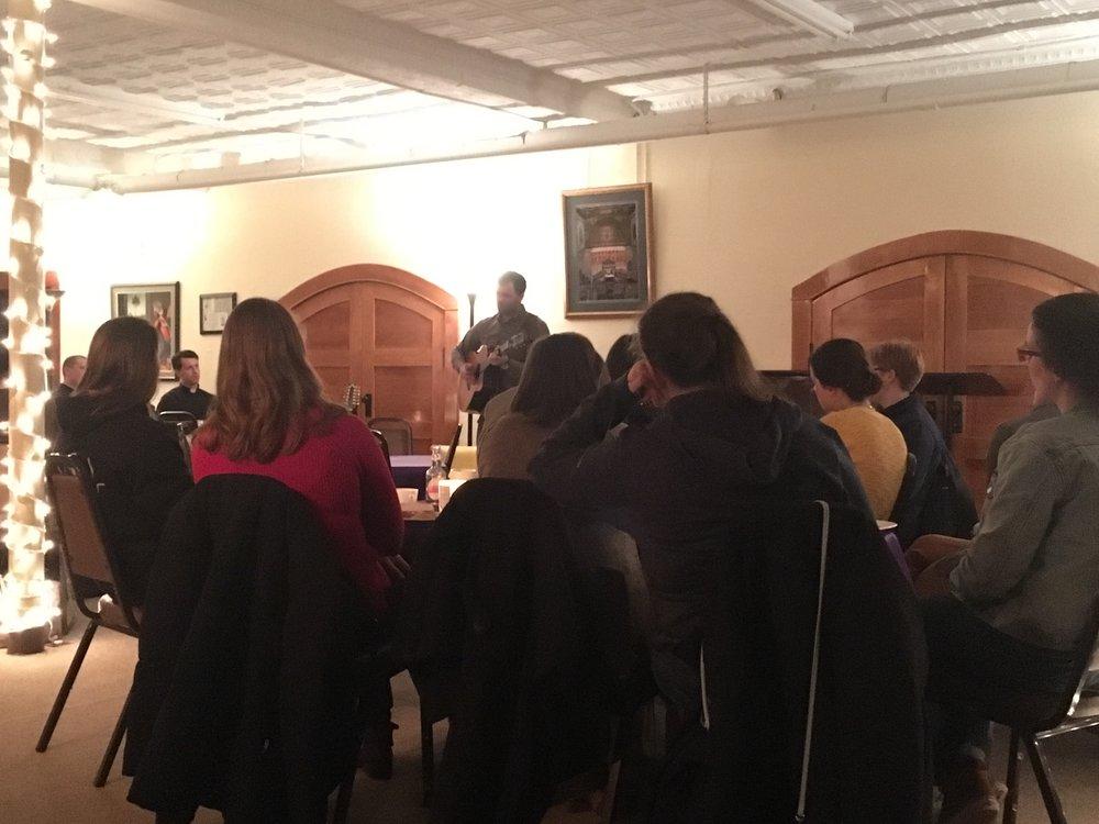 Luke Spehar Cafe Clement Lent 2018.jpeg
