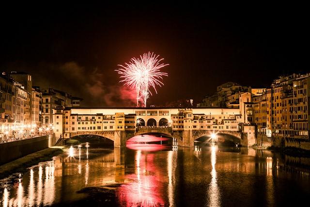 Florence, Italy - celebration of St. John the Baptist's birthday