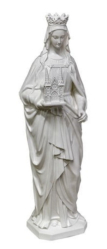 Statue of St. Hedwig, our patroness