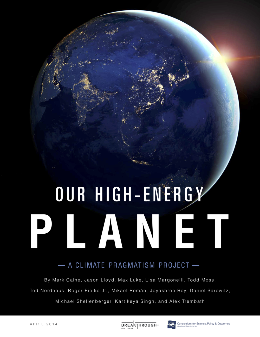 Our High-Energy Planet