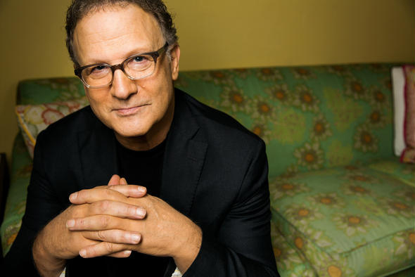 Albert Brooks in Santa Monica. (Marcus Yam, Los Angeles Times)