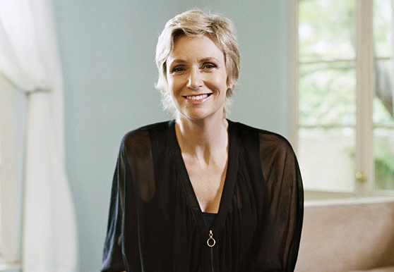 Jane Lynch photographed in Los Angeles, 2010 Photo: Amanda Marsalis