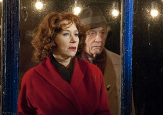 Helen Mirren as Ida with John Hurt, who plays Phil Corkery, in 'Brighton Rock'