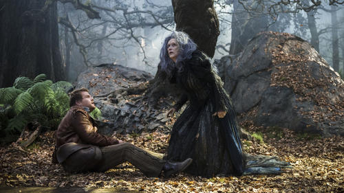 """Into the Woods"" features A-list actor Meryl Streep, with James Corden. (Peter Mountain / Disney)"