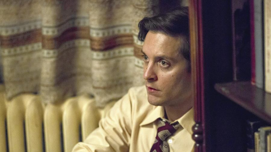 "Tobey Maguire stars as troubled chess superstar Bobby Fischer in director Edward Zwick's film ""Pawn Sacrifice."" (Bleecker Street)"