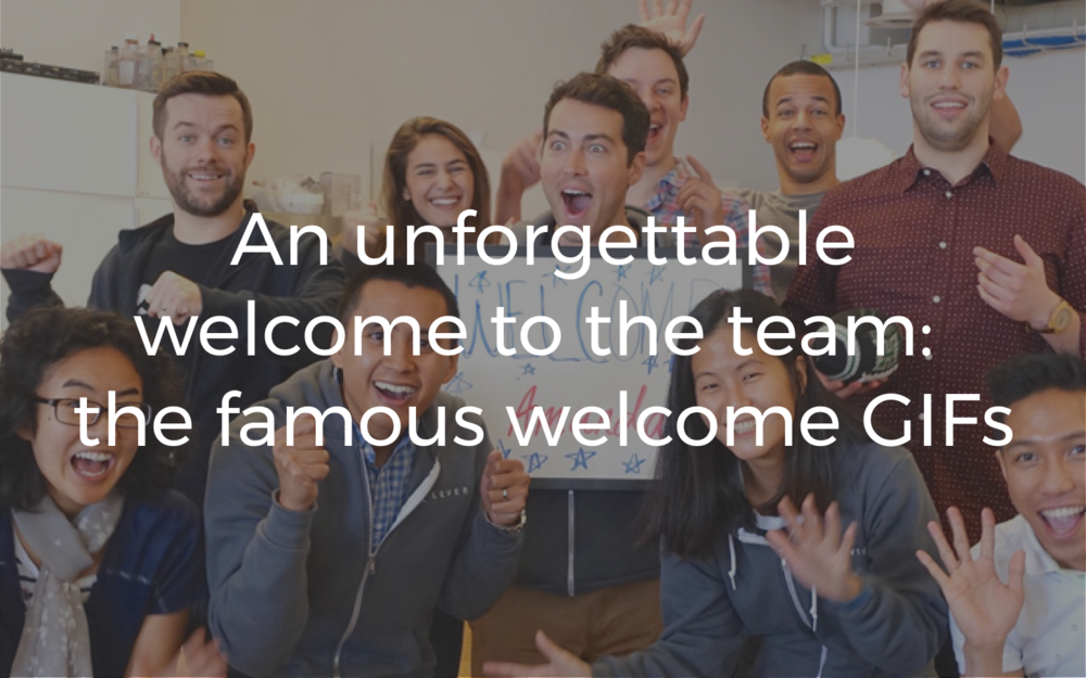 A new hire's experience at Lever is unlike any other – it starts off with a *bang*!