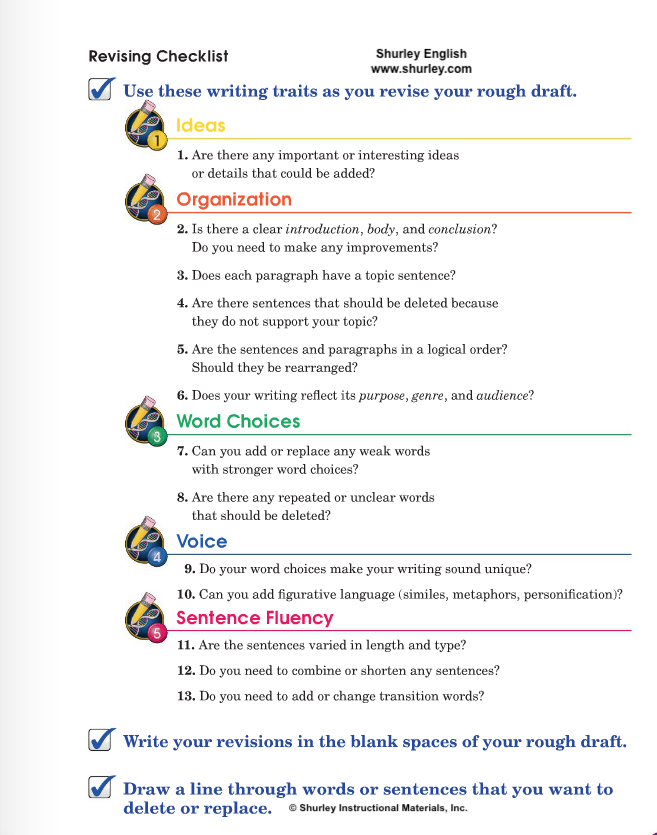 Revising Checklist with Shurley English.png