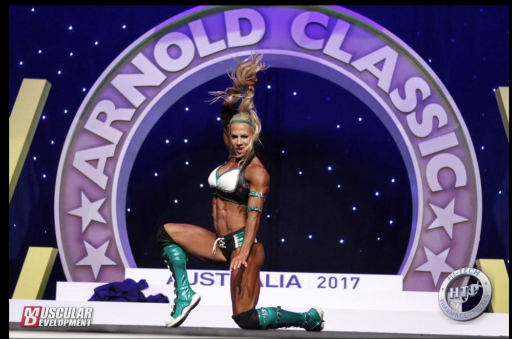2017 Arnold Classic Australia -- 2nd Place