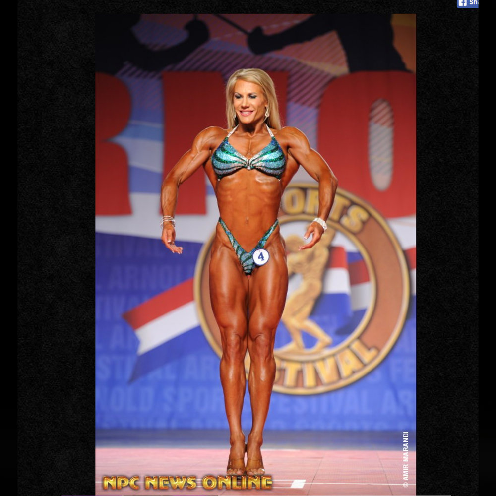 2016 Arnold Classic Fitness International -- 2nd Place