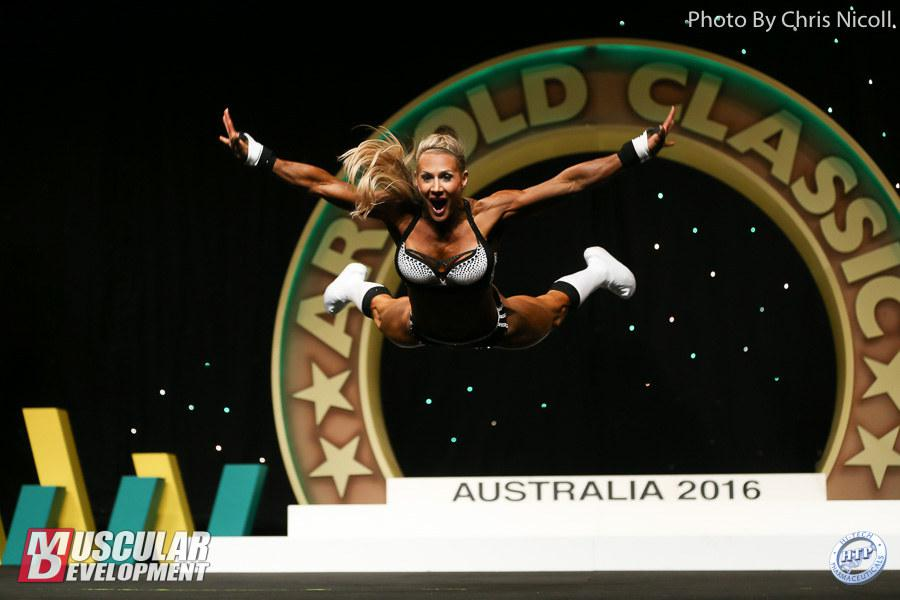 2016 Arnold Classic Australia -- 2nd Place