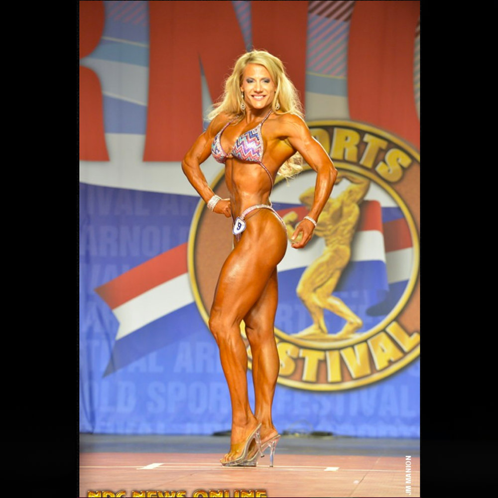 2014 Arnold Classic Fitness International -- 8th Place