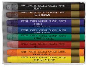 Sargeant Art Watercolor Crayons