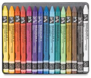 Caran D'Ache Neocolor II Watercolor Crayons