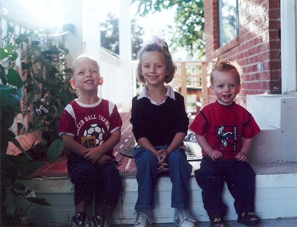 This is my first 3 children when they were 3-7 years old.  Teach your children to work when they are young so they can pursue their dreams when they grow up!