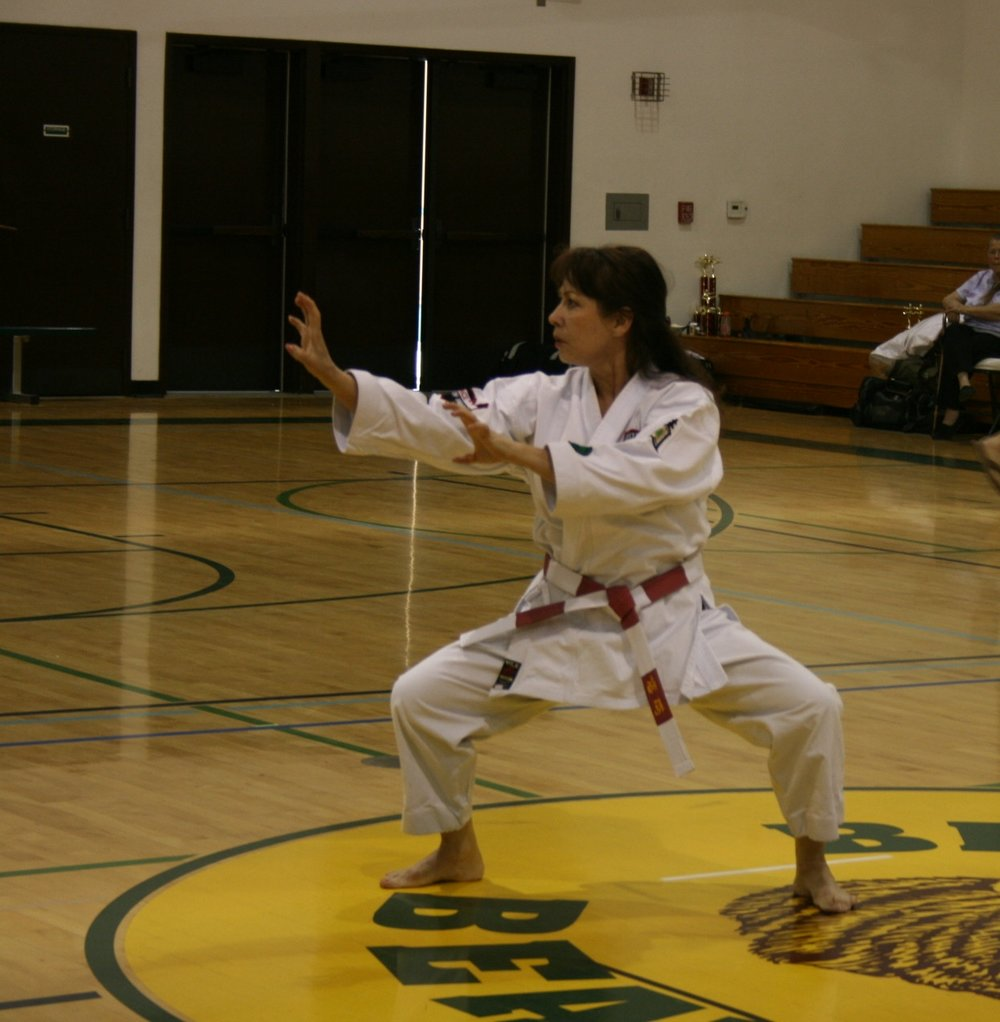 Maria martial art picture.JPG