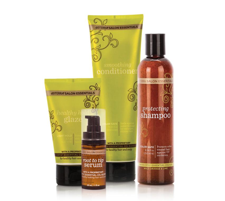 doTerra Solon Essentials Hair Care