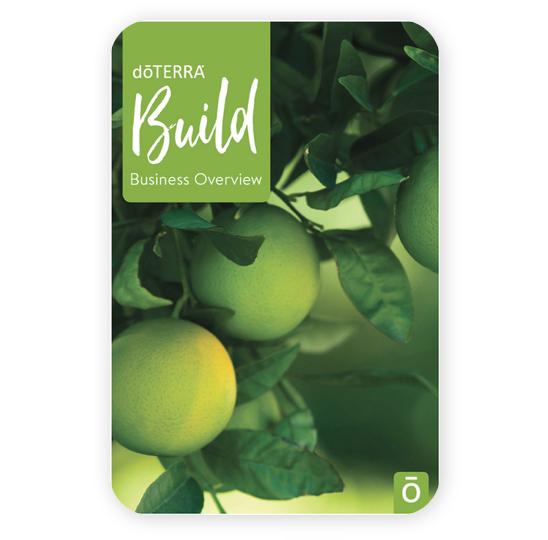 doterra essential oils business overview brochure