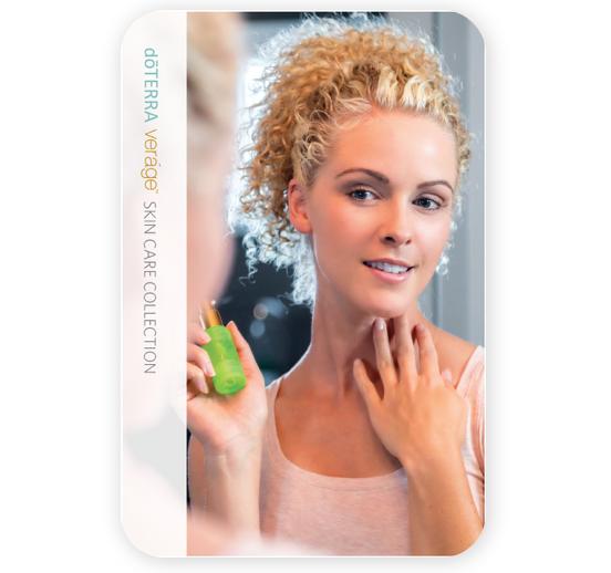 doterra essential oils verage brochure