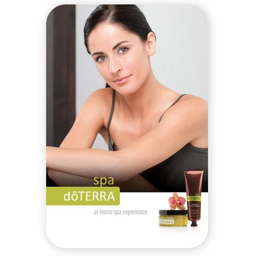 doterra essential oils spa brochure