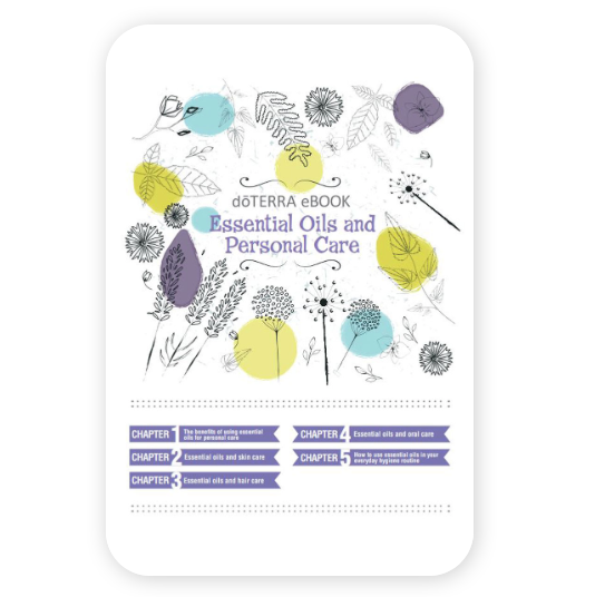 doterra essential oils and personal care ebook