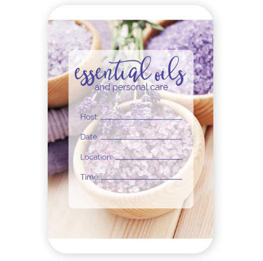 doterra essential oils and personal care class invites