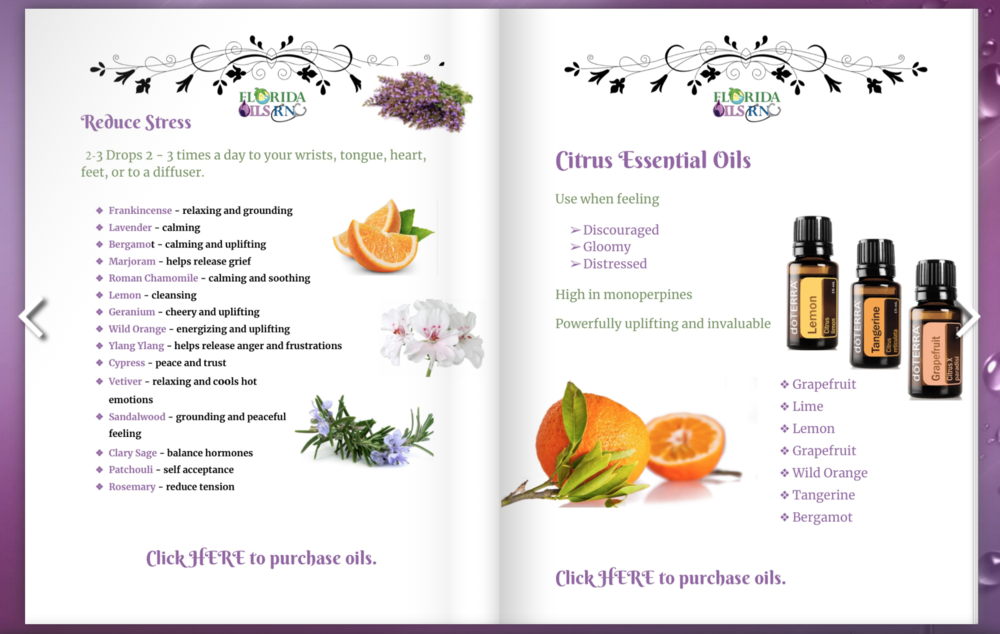 Essential Oils Benefits eBook - Brought to you by Sheila Tucker