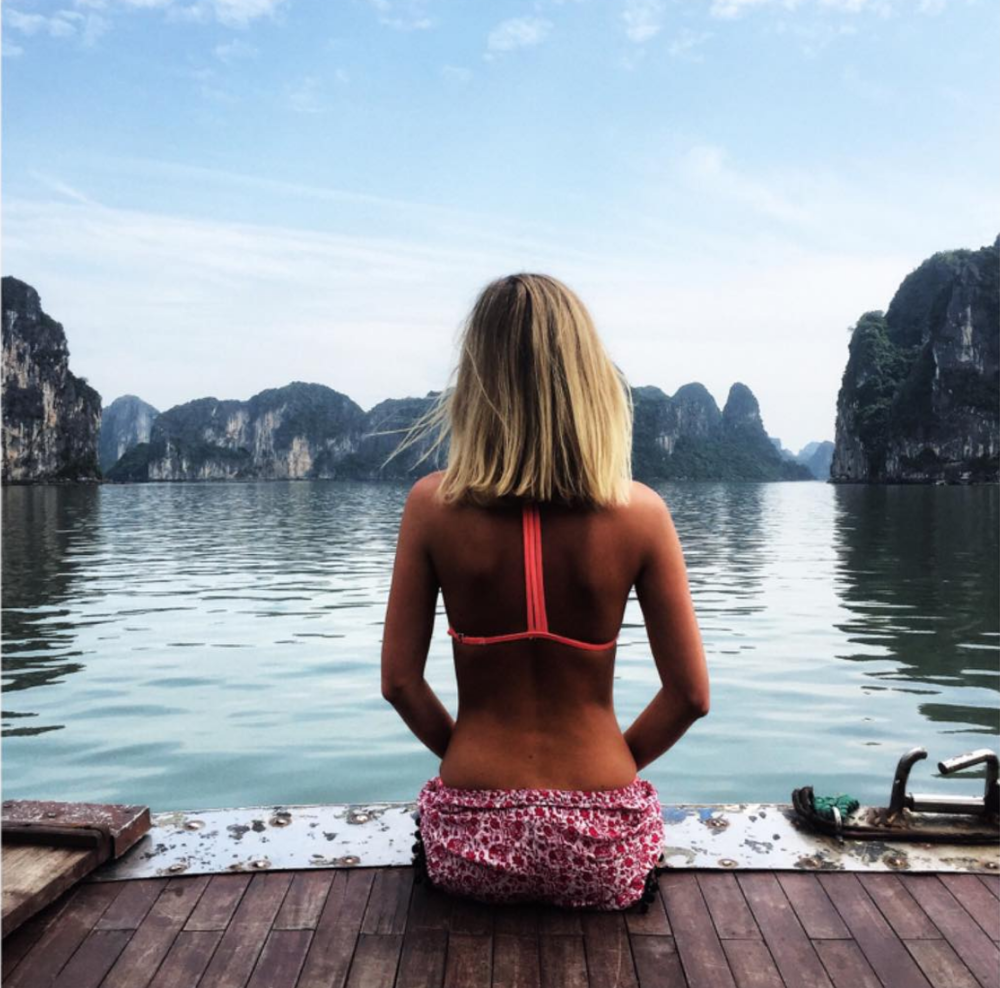 Ha Long Bay - Here is one of my very FIRST Instagram posts at Ha Long Bay in 2015! We'll get much better photos this time round, I can ASSURE you, ha! It's amazing how much I have changed and grown through the last three years.