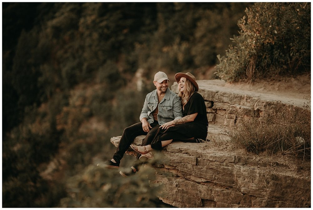 Katie Marie Photography | Hamilton Ontario Wedding Photographer | Hamilton Engagement Session | HamOnt | Dundas Peak Proposal_0085.jpg
