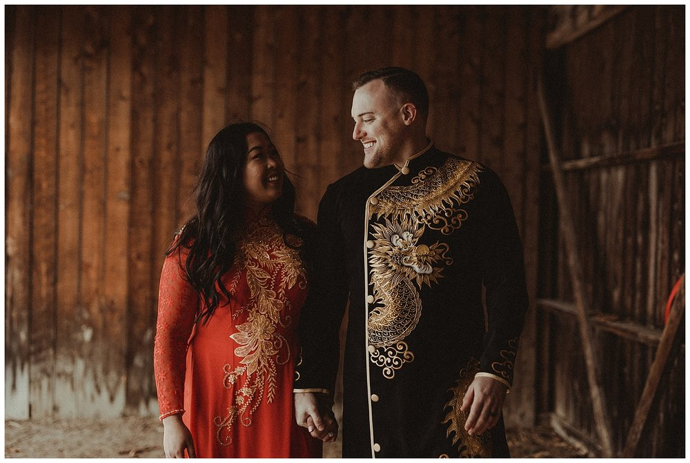 Katie Marie Photography | Hamilton Ontario Wedding Photographer | Hamilton Engagement Session | HamOnt | Vietnamese Engagement Session | Traditional Outfit Engagement Session | Dundurn Castle_0012.jpg
