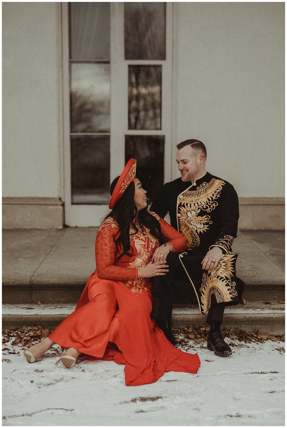 Katie Marie Photography | Hamilton Ontario Wedding Photographer | Hamilton Engagement Session | HamOnt | Vietnamese Engagement Session | Traditional Outfit Engagement Session | Dundurn Castle_0018.jpg