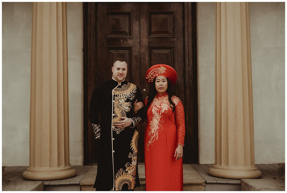 Katie Marie Photography | Hamilton Ontario Wedding Photographer | Hamilton Engagement Session | HamOnt | Vietnamese Engagement Session | Traditional Outfit Engagement Session | Dundurn Castle_0025.jpg