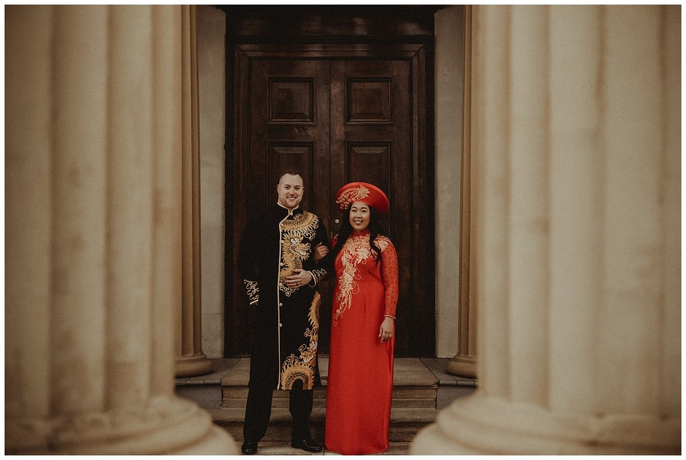 Katie Marie Photography | Hamilton Ontario Wedding Photographer | Hamilton Engagement Session | HamOnt | Vietnamese Engagement Session | Traditional Outfit Engagement Session | Dundurn Castle_0029.jpg