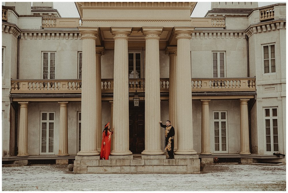 Katie Marie Photography | Hamilton Ontario Wedding Photographer | Hamilton Engagement Session | HamOnt | Vietnamese Engagement Session | Traditional Outfit Engagement Session | Dundurn Castle_0032.jpg