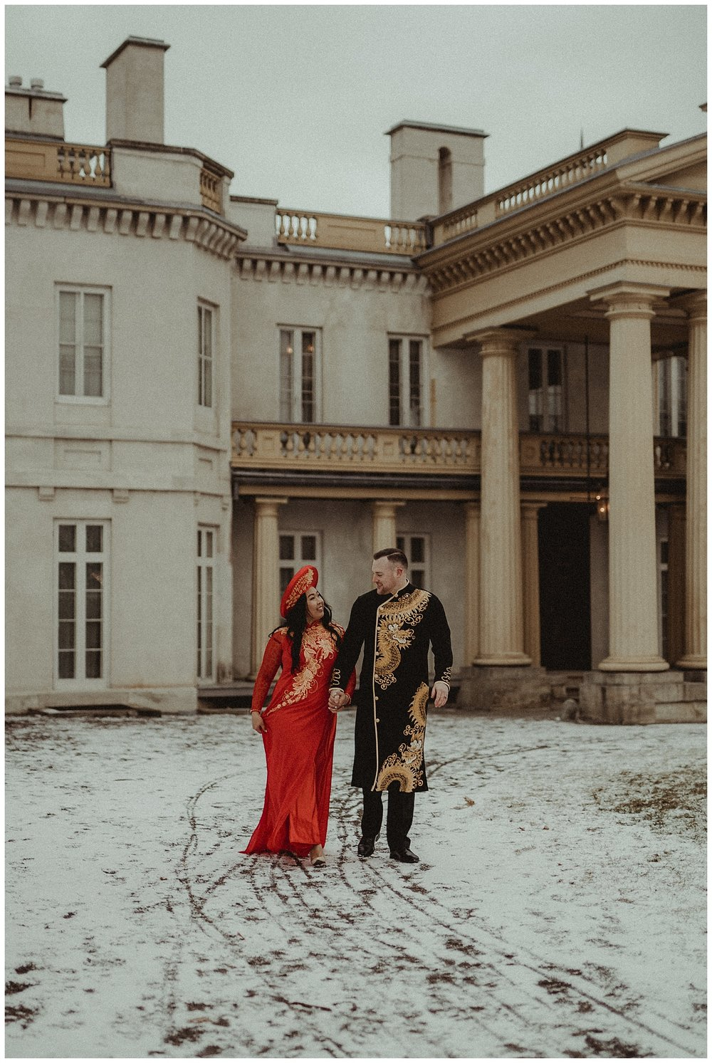 Katie Marie Photography | Hamilton Ontario Wedding Photographer | Hamilton Engagement Session | HamOnt | Vietnamese Engagement Session | Traditional Outfit Engagement Session | Dundurn Castle_0038.jpg
