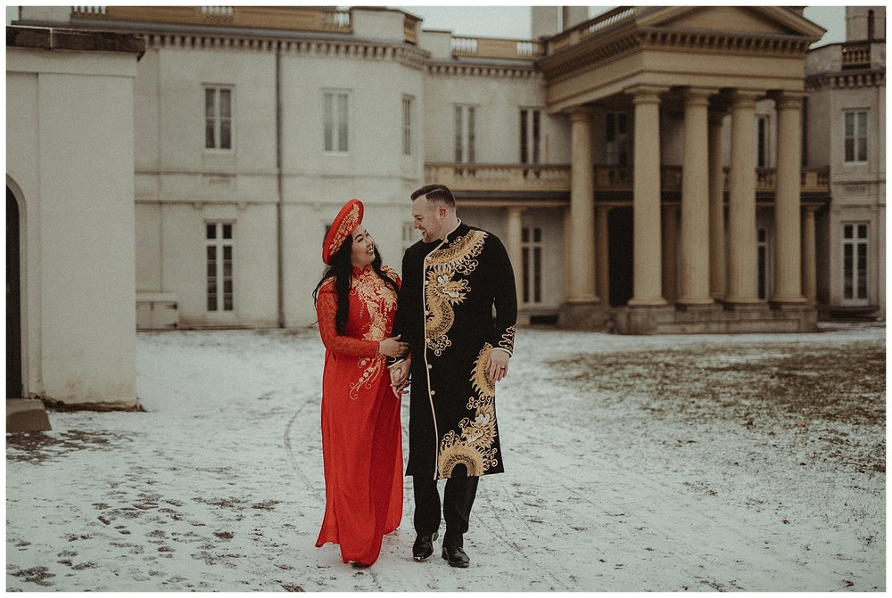 Katie Marie Photography | Hamilton Ontario Wedding Photographer | Hamilton Engagement Session | HamOnt | Vietnamese Engagement Session | Traditional Outfit Engagement Session | Dundurn Castle_0040.jpg