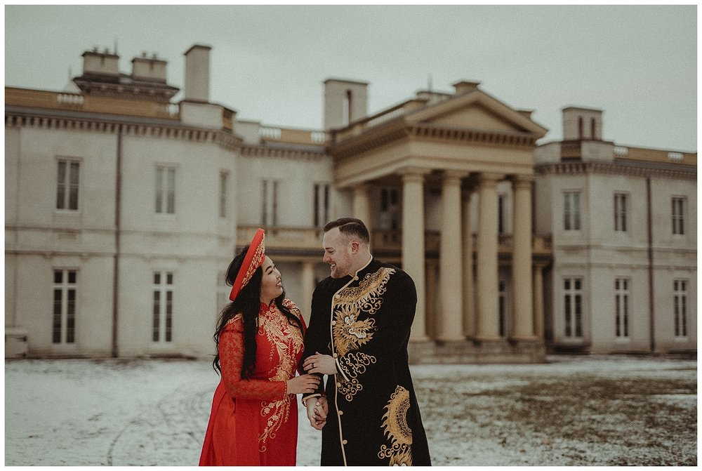 Katie Marie Photography | Hamilton Ontario Wedding Photographer | Hamilton Engagement Session | HamOnt | Vietnamese Engagement Session | Traditional Outfit Engagement Session | Dundurn Castle_0041.jpg