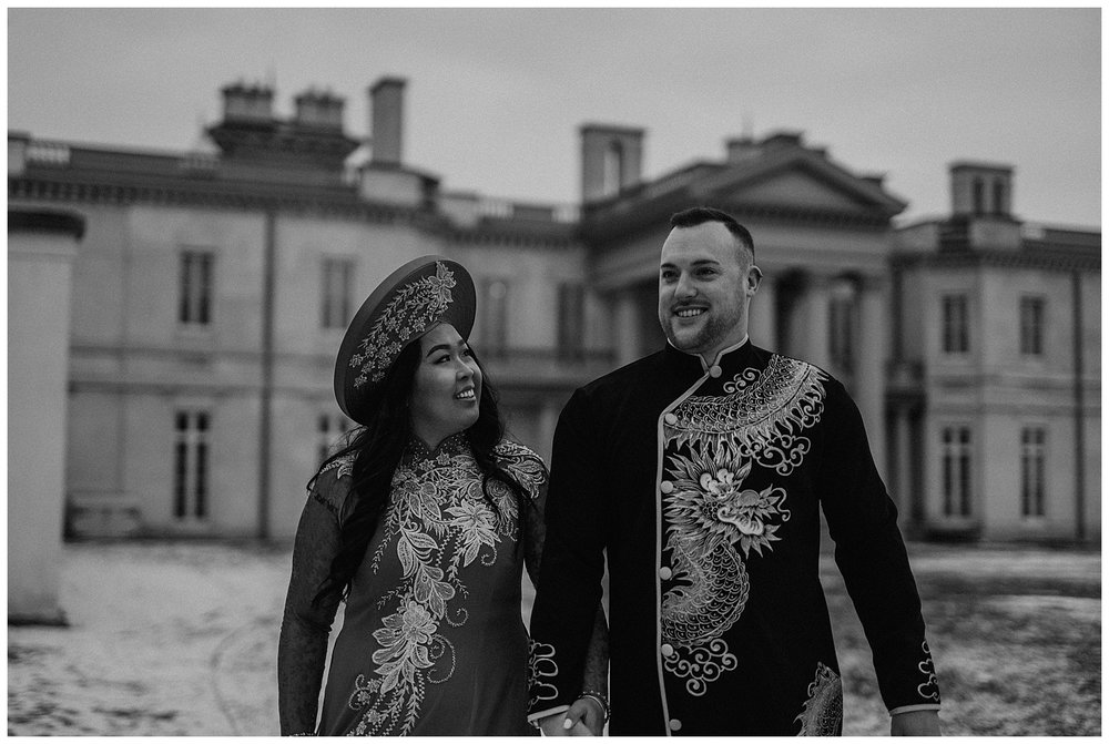 Katie Marie Photography | Hamilton Ontario Wedding Photographer | Hamilton Engagement Session | HamOnt | Vietnamese Engagement Session | Traditional Outfit Engagement Session | Dundurn Castle_0042.jpg