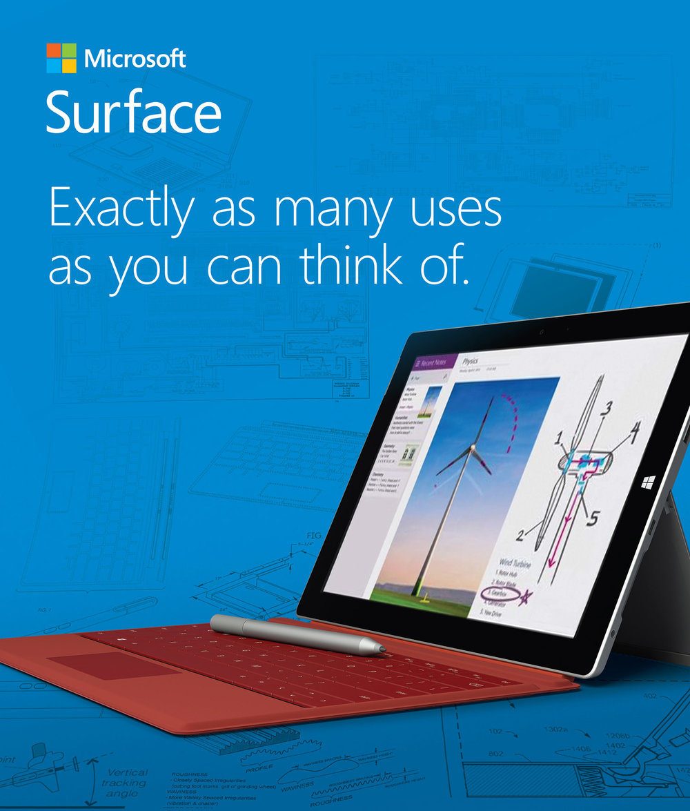 Launch of Microsoft Surface