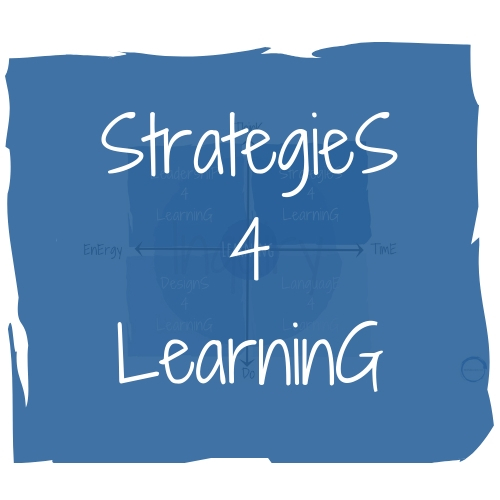 Strategies 4 Learning - Strategies for Learning is how content is presented, synthesised and manipulated to deepen learning. Today's students engage with content very differently and so the strategies for learning we use are definitely worth a review and a refine to cater for the needs to kids in the 21st Century.