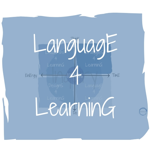 Language 4 Learning - A language for learning defines an organization's learning culture. It needs to reflect the language that is used to identify what successful learning looks like in the school.
