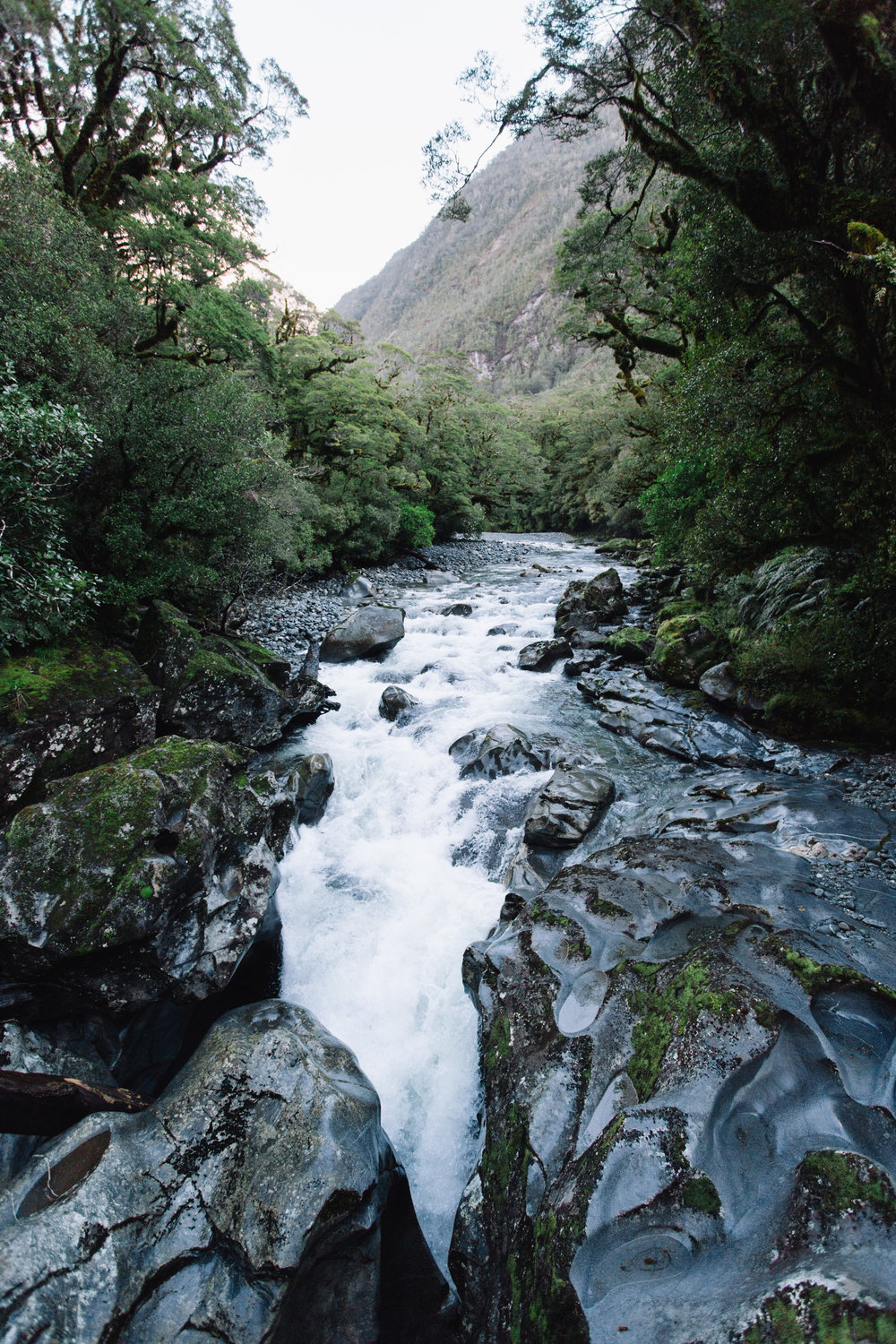 The Chasm, Milford Sounds