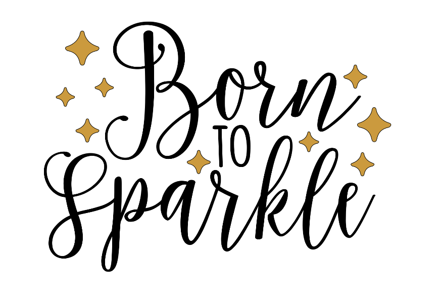62b84431c4d6 Born to Sparkle Stencil 11x16 — Stacey Lynn's Workshop