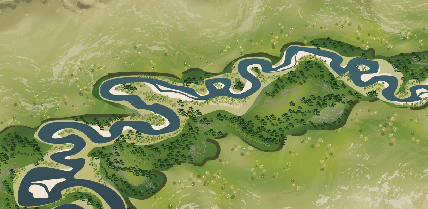 Meandering Stream