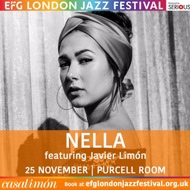 - Venezuelan singer Nella comes to the EFG London Jazz Festival for her first London show.